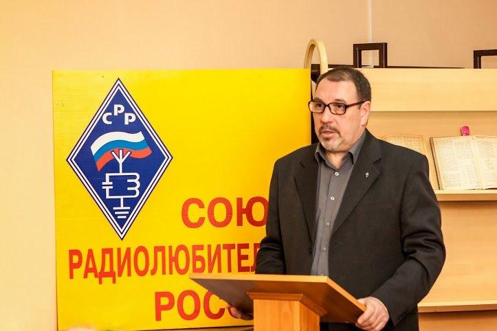 О спортивной работе рассказал присутствующим Анатолий Бойцов (R3RK)