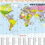 Радиолюбительские карты