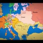 Карта Европы (видео)