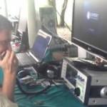 Трансивер SunSDR-mb1 на слёте радиолюбителей Юга России (видео)