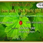 Всемирный День QRP