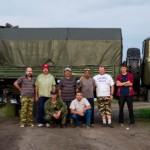 Команда RK3R в полевом дне на УКВ – 2014