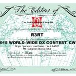 CQ WW DX Contest CW Результаты 2015