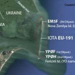 EM5F — экспедиция на IOTA EU-191
