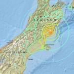 Землетрясение и цунами в Новой Зеландии