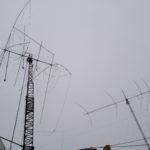 Ледяной дождь и КВ антенны – испытания на прочность в начале зимы