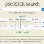 QSORDER Search (аудиозапись вашей работы в контесте)