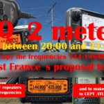 EURAO: 2 метра в опасности: CQ солидарность